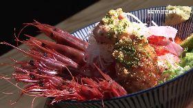 炸生蠔蝦丼1800