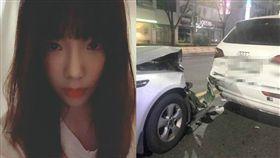 少女時代隊長太妍車禍/taeyeon_ss IG、受害者IG