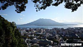 鹿兒島,活火山,櫻島。(圖/記者簡佑庭攝)