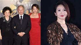 陶晶瑩遭爆驅趕吳宇森妻子牛春龍。(合成圖)
