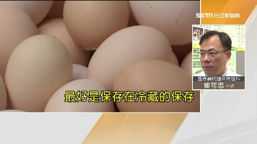 蛋蛋的危機! 自來水洗雞蛋會變質?