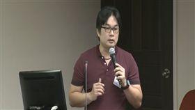 台灣汽車貨運倉儲工會理事長林志雄 圖/翻攝自立法院議事直播