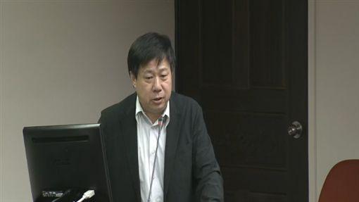 東華大學副教授張鑫隆 圖/翻攝自立法院議事直播