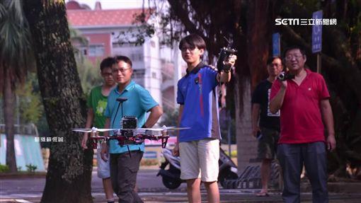 14歲國中生Google當老師 自學組裝無人機SOT