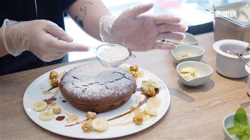 Petit Doux,微兜,巧克力,巧克力狂熱瓦帕,沉溺可可奶茶,IG,杏桃鬆餅