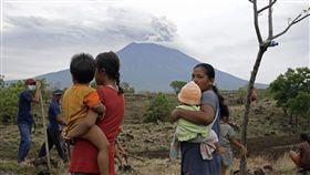 阿貢火山(Mount Agung)_美聯社