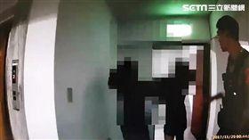 大安分局再度開記者會回應李婉鈺的指控,並還原正義國宅內發生情形(翻攝畫面)