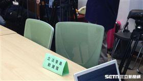 民進黨立委劉建國11月30日舉辦記者會談照服員加薪問題,卻未現身。記者李英婷攝