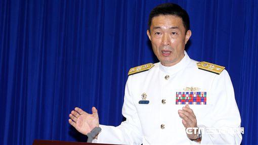 、海軍司令部計畫處處長陳道興少將。 邱榮吉攝