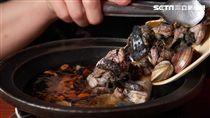 萬客燒酒雞,火鍋。(圖/萬客什鍋提供)