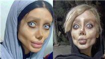 整形,伊朗,德黑蘭,節食,安潔莉娜裘莉,Sahar Tabar 圖/翻攝自IG