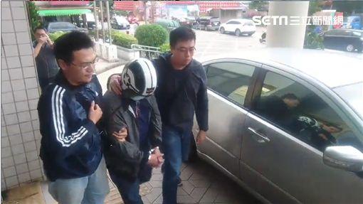鼎玉鉉鵝肉店,縱火,嫌疑人(圖/翻攝畫面)