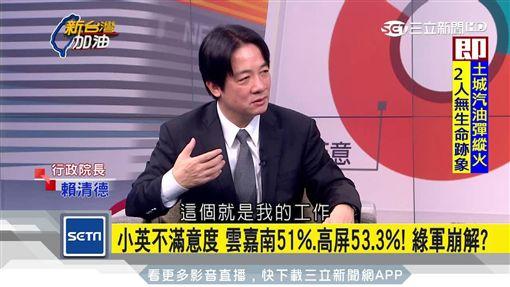 把事情做好!蔡英文支持度低落 賴清德:這是我的工作新台灣加油