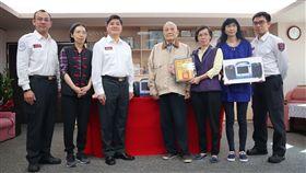 台北市,消防局,心臟電擊器,捐贈