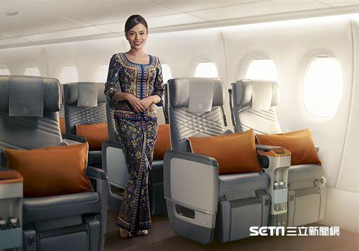 新加坡航空,空姐,優越經濟艙。(圖/新航提供)