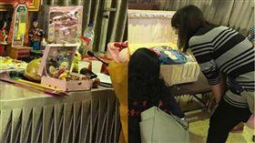 新北,三峽,邱姓女童遭虐亡,葬禮,邱小妹, 圖/翻攝自臉書