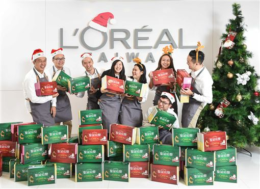 萊雅,聖誕節,聖誕禮物傳愛,偏鄉,美妝 圖/萊雅提供