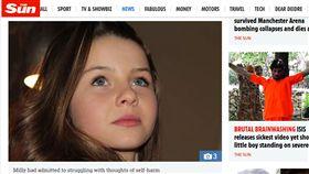 愛爾蘭,米莉,Milly Tuomey(太陽報 https://www.thesun.co.uk/news/5041133/tragic-girl-11-unhappy-with-how-she-looked-posted-haunting-instagram-diary-detailing-her-plan-to-die-before-suicide/)