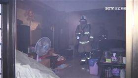 婦人半夜開火睡著了 乾燒冒煙不是第一次