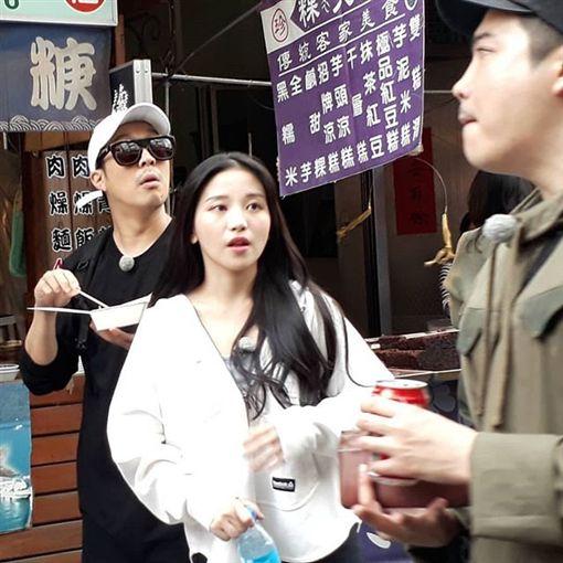 蔡瑞雪,RUNNING MAN 圖翻攝自chussone26_IG