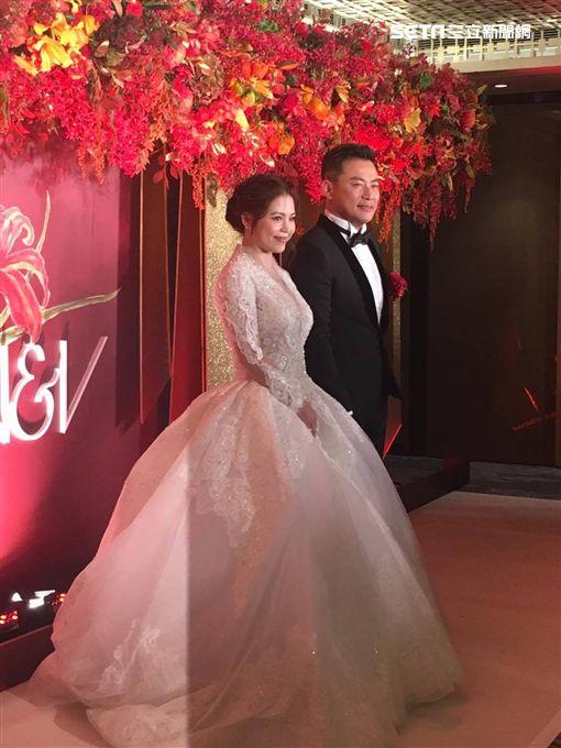 江宏恩,婚禮,Vanessa,/記者蕭筠攝影