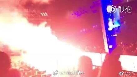 五月天演唱會起火/八組兔區爆料微博