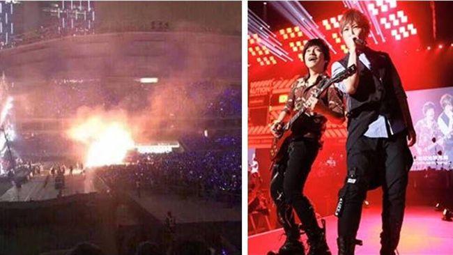 五月天上海場演唱會起火 公司回應了