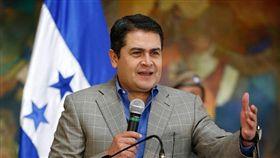 宏都拉斯總統耶南德茲(Juan Orlando Hernandez,或譯葉南德茲)(圖/翻攝自Juan Orlando Hernandez臉書)