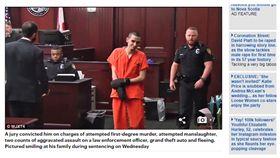 少年朝警開四槍 警送潤滑液:會需要