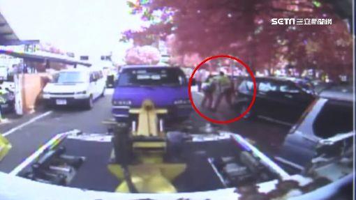 車被拖吊怒撕封條! 男踩紅線1600罰單變5.5萬