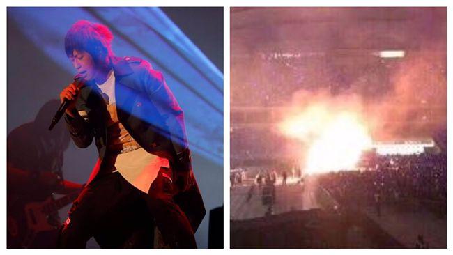 舞台起火驚魂 五月天臉書這麼說…