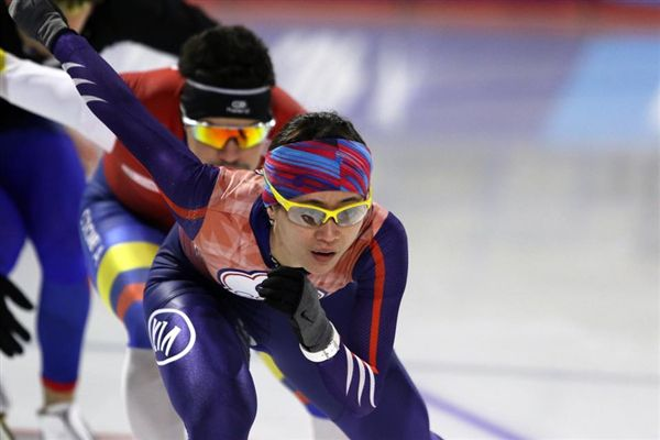 ▲黃郁婷在世界盃競速滑冰賽中確定拿下冬奧資格。(圖/翻攝自黃郁婷臉書)