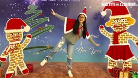 聖誕節,飯店,薑餅人,北極熊,新光三越南西店,王朝大酒店,聖誕