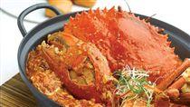 辣椒螃蟹,珍寶海鮮。(圖/翻攝自珍寶海鮮FB)