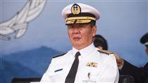 海軍司令黃曙光上將。( 圖/記者林敬旻攝)