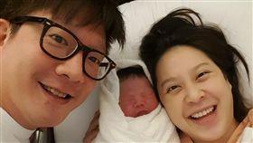 黃小柔,剖腹產,第三胎/艾迪昇提供