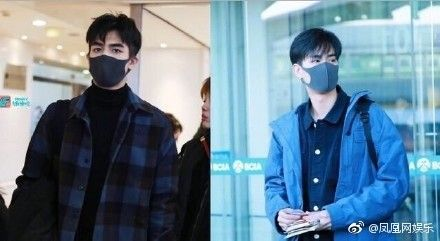 宋威龍(左)被誤認為胡一天(右)(圖/翻攝自鳳凰網娛樂微博)