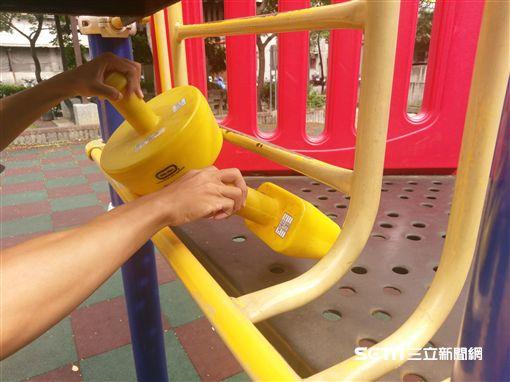 公園,遊樂器材,消基會。
