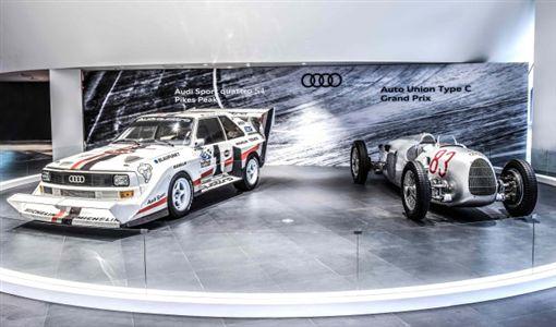 車訊網/Audi Sport Quattro S1、Auto Union Type C連袂展出 經典賽車披掛上陣