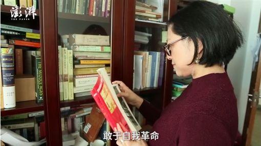 盧麗安、中共19大代表盧麗安/澎湃新聞網
