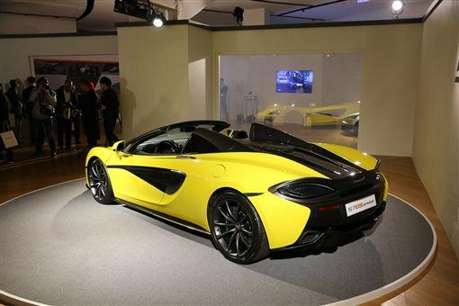 McLaren 570S Spider 不妥協的美車訊網(業配)