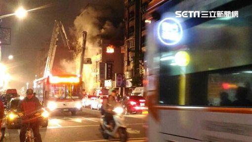 台北,八德路,火災,火警,圖/翻攝畫面