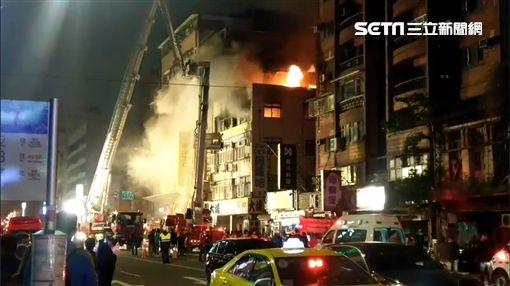 台北,八德路,火警,違建,圖/翻攝畫面