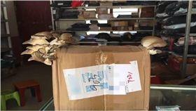 快遞,包裹,香菇,蘑菇,大陸,雲南,麗江 圖/翻攝自梨視頻