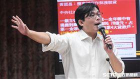 16:9 立法院財政委員會,時代力量立委黃國昌。 圖/記者林敬旻攝