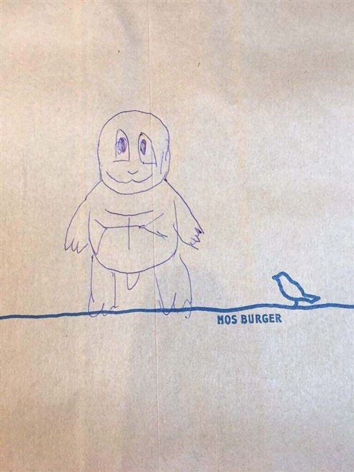摩斯,客人,奧客,跟風,有趣,Dcard,畫畫,傑尼龜,店員https://tw.observer/p/227837629
