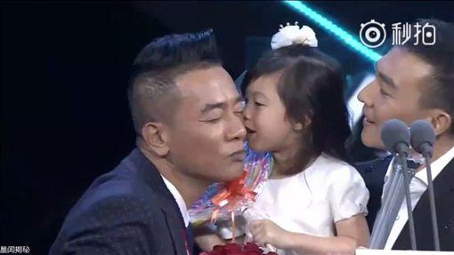 陳小春,劉畊宏,小泡芙(圖/翻攝自秒拍)