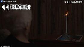 魔術師精準牌技讓奶奶超佩服。(圖/翻攝自Ross Smith臉書)