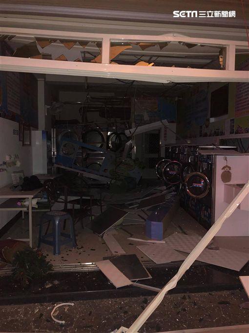 彰化縣二林鎮今晚傳出疑似氣爆意外/翻攝