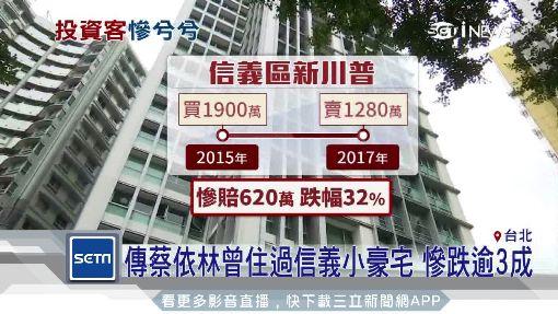 聽說蔡依林也買過 信義小豪宅慘跌逾3成